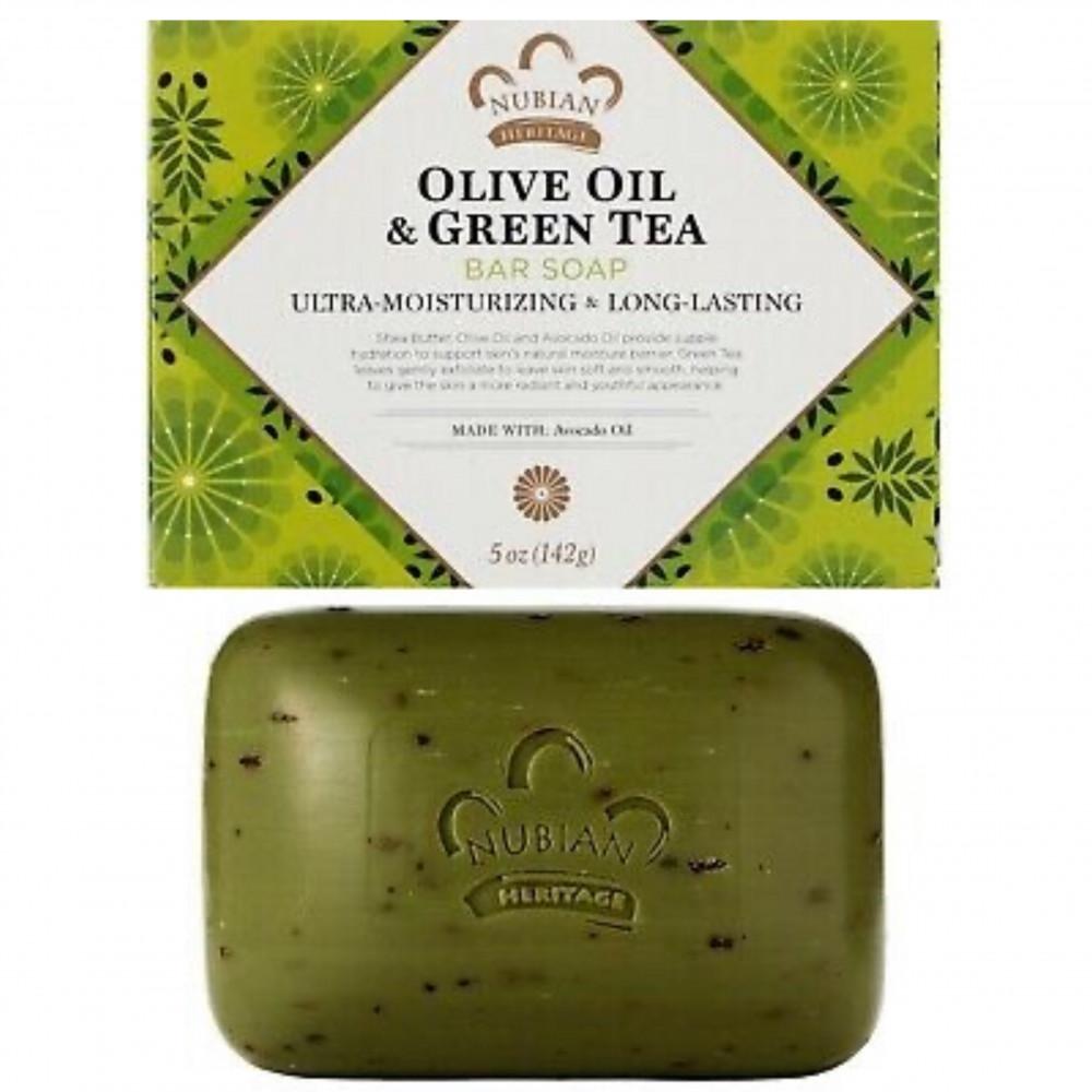 صابون زيت الزيتون والشاي الأخضر من نيوبيان