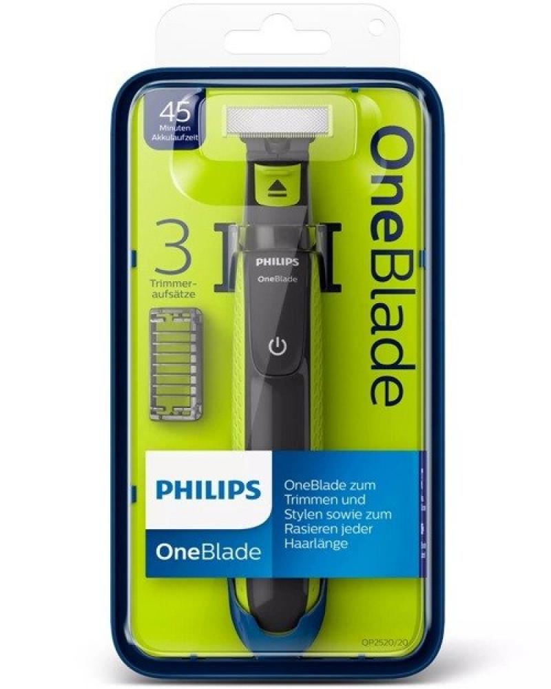ماكينة تشذيب وحلاقة كهربائية وان بلايد فيليبس Philips QP2520