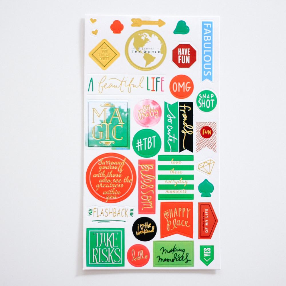 ستيكرات عبارات تشجيعية ستيكر أجندة لابتوب ورق لاصق ملصقات لواكر جامعة