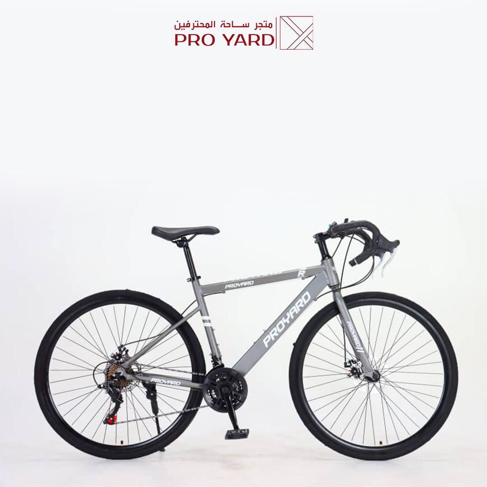 دراجة رود المونيوم - 21 سرعة مع 14 هدية - قير شيمانو اصلي