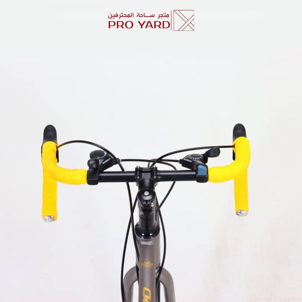 دراجات رود المونيوم - بأفضل سعر 21 سرعة - قير شيمانو اصلي - 14 هدية