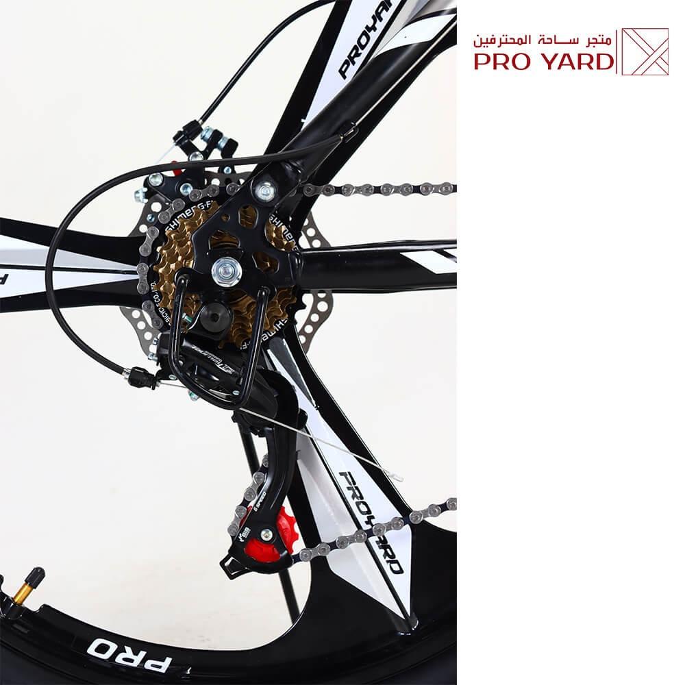 دراجه قابله للطي قير شيمانو اصلي - هجين  - 14 هدية مجانية - من برو يار
