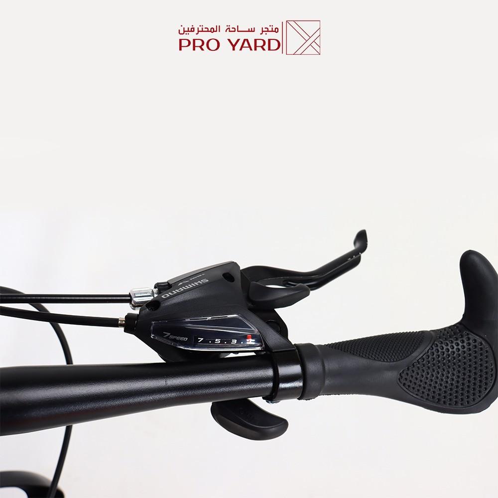 سيكل قابل للطي  دراجة هجين دراجة هوائية لون رمادي