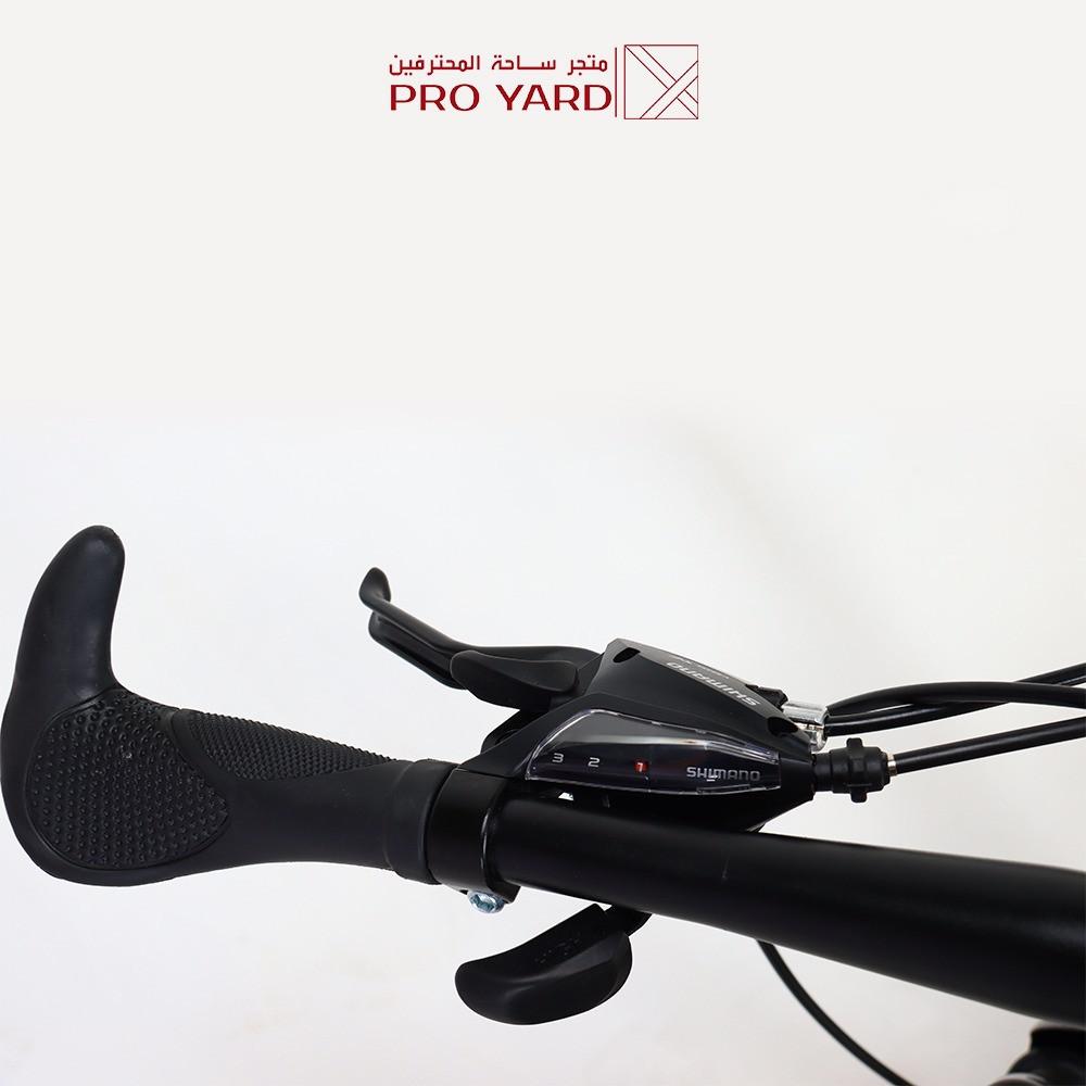 دراجه هجين قابله للطي رياضيه دراجة هوائية لون أصفر
