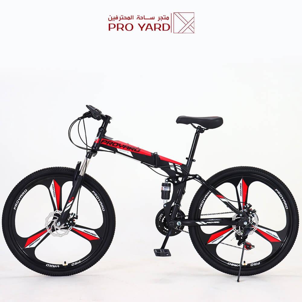 دراجات هوائيه قابله للطي قير شيمانو اصلي - 21 سرعة هجين  - 14 هدية