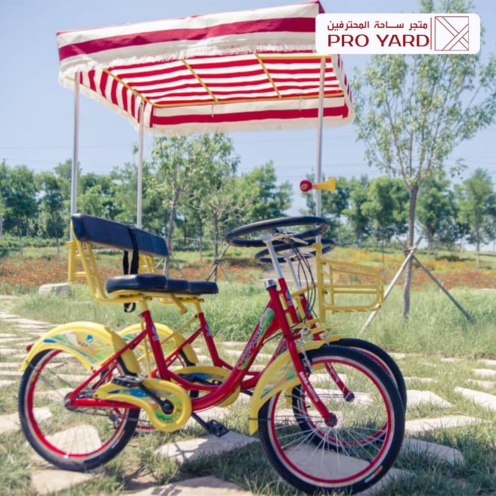 دراجة عائلية 4 راكب اساسي