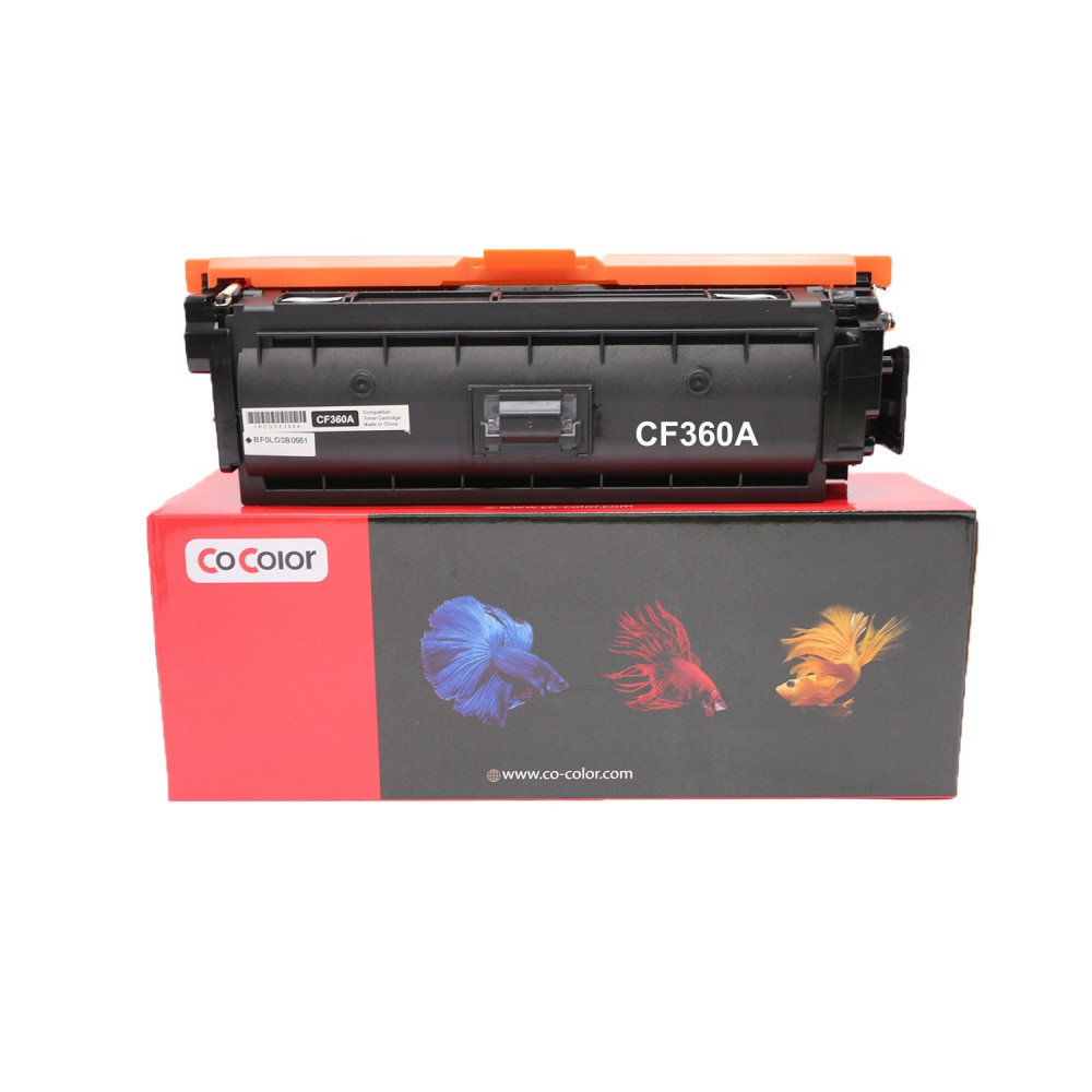 طقم حبر طابعة ليزر 508A ملون CF360A CF361A CF362A CF363A