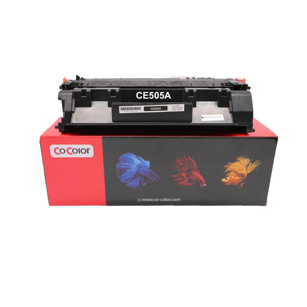 حبر طابعة ليزر 05A اسود CE505A
