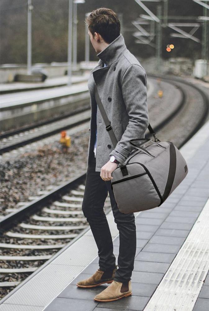 حقيبة رجالي للسفر والأعمال كبيرة سعة