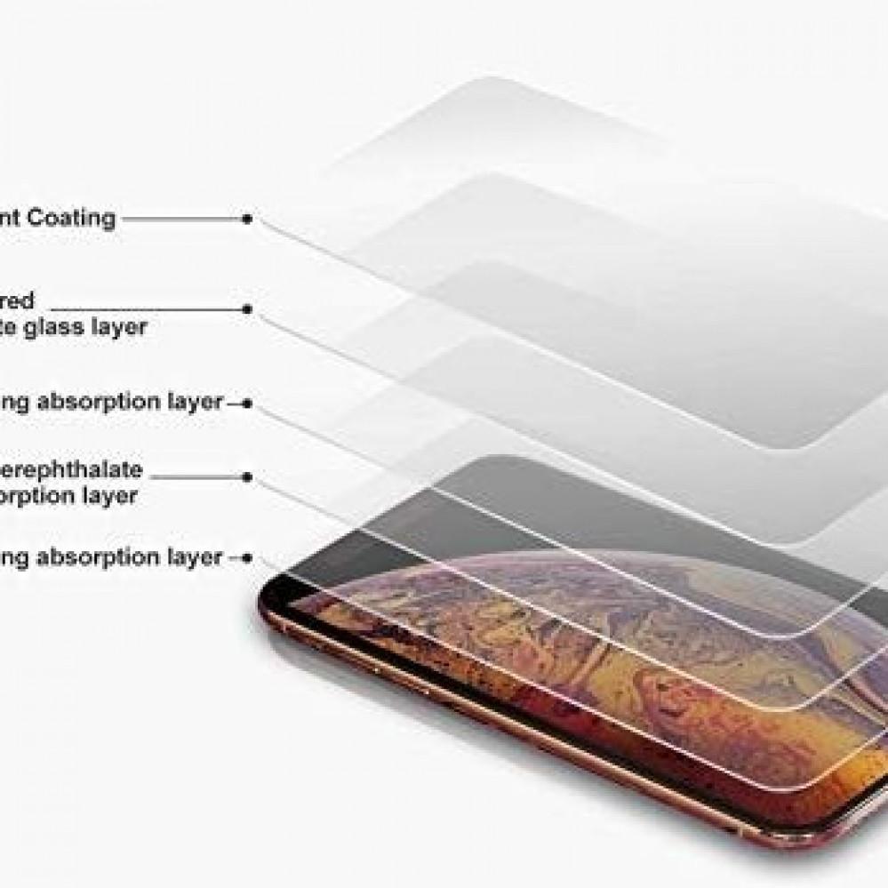 استكر حماية قزاز كامل الشاشة 3D لآيفون 8و7 بلس لون اسود من جوبوكي