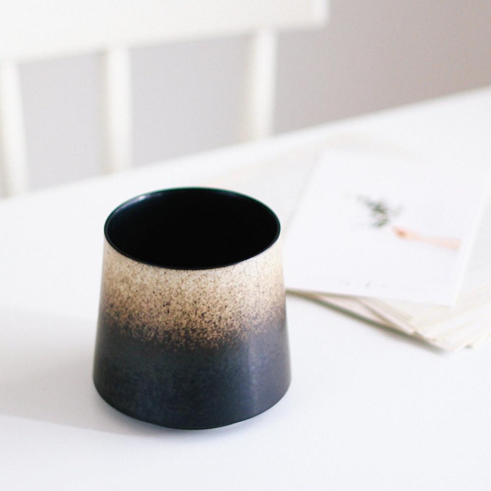 أكواب قهوة كوب أسود جبل فوجي أدوات القهوة المختصة ركن القهوة كوب متجر