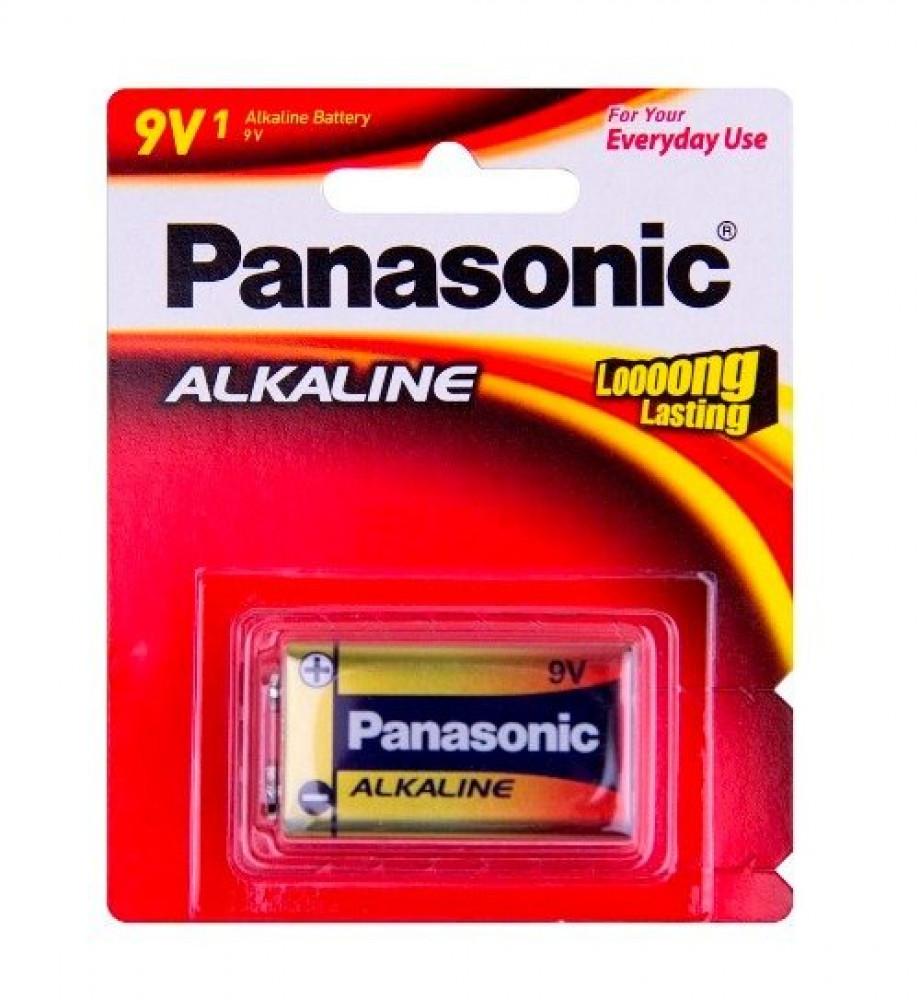 بطارية باناسونيك الكلاين Panasonic Battery 9v Alkaline
