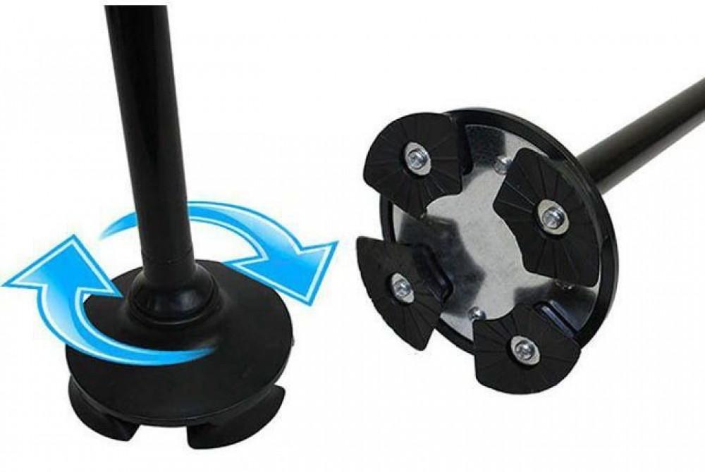 عكاز مشي قابلة للطي تحتوي على ضوء مدمج لتوفير رؤية أفضل في الظلام يمكن