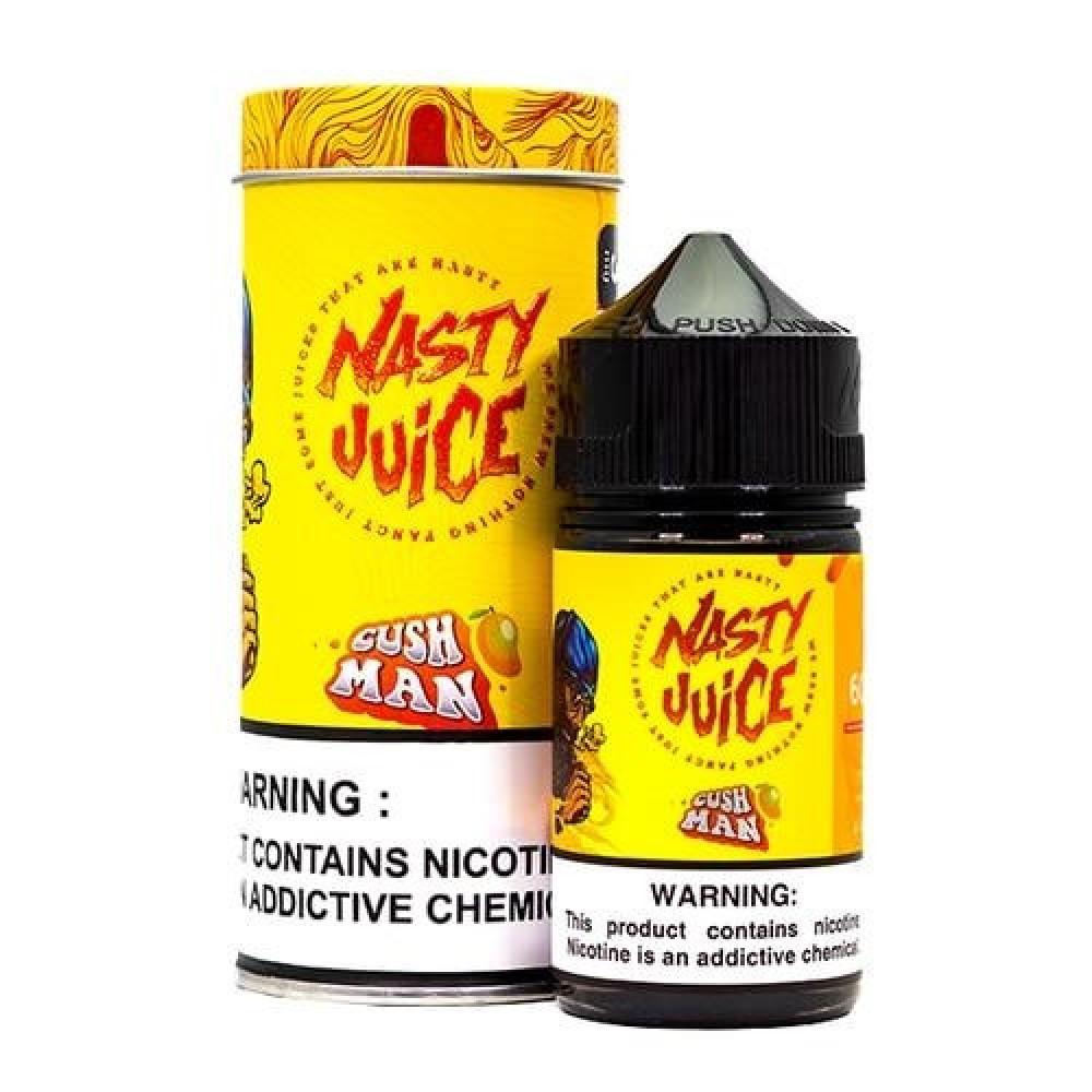 نكهة ناستي كاش مان مانجو 60 ملي - Nasty Cush Man tropical mango - 60ML