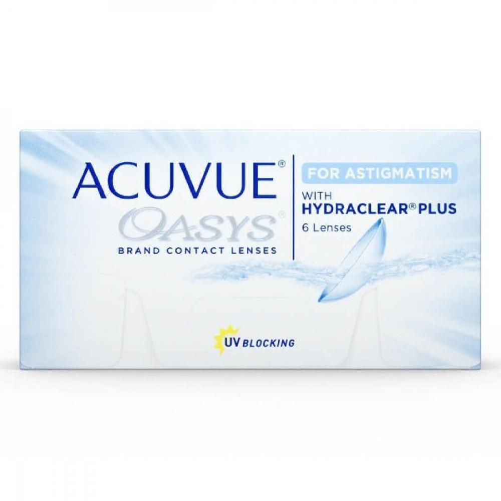 Acuvue Oasys for Astigmatism  أكيوفيو أوسيس للاستجماتيزم