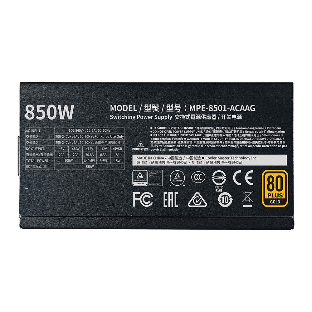 MWE GOLD 850 - V2