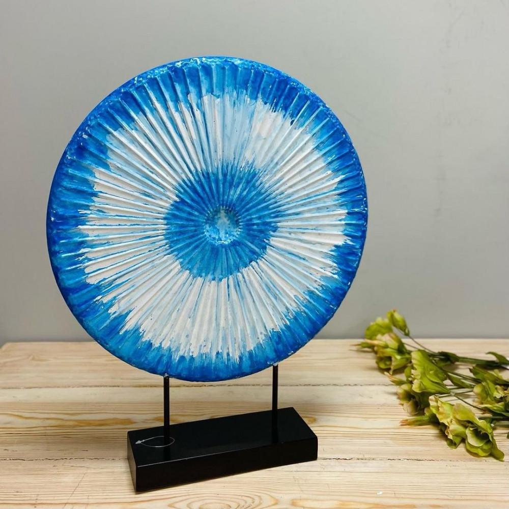 لوحة حديد دائرية لوحة شكل الشمس لوحات حديد لوحة حديد ازرق