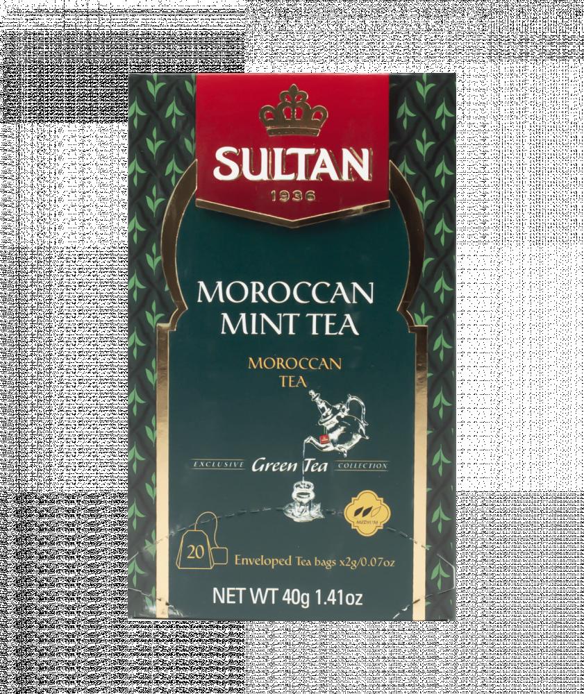 بياك-سلطان-شاي-اخضر-مغربي-بالنعناع-شاي