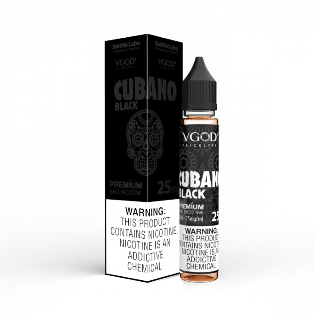 Cubano Black VGOD SaltNic