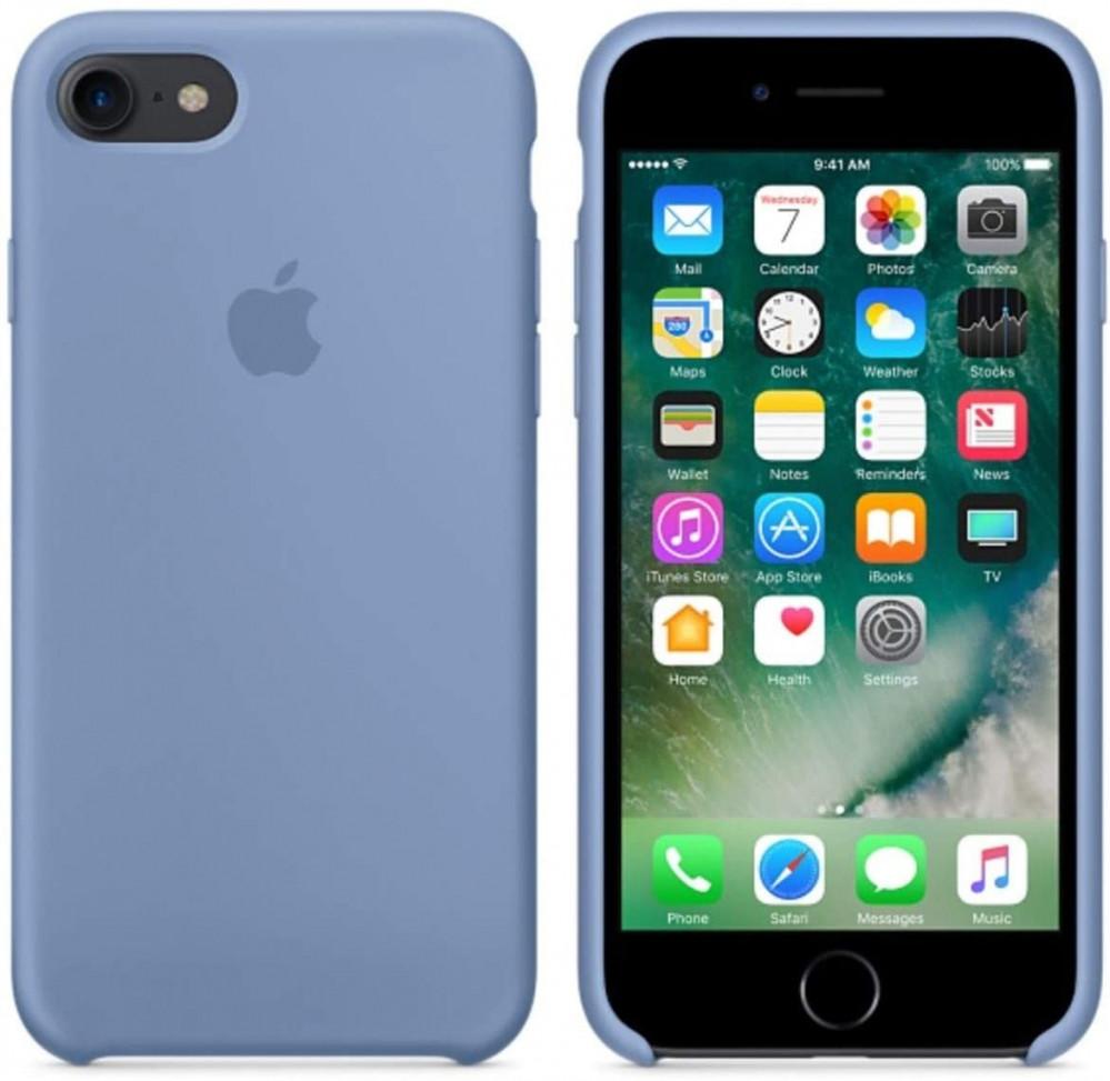 iPhone 8 - iPhone 7 Silicone Case  - Azure