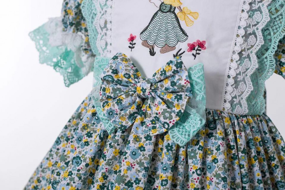 فستان اخضر فانتاج فانسي كلوزيت