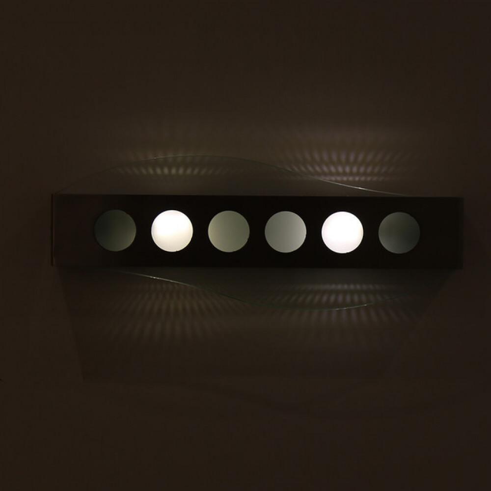 انارة جدارية داخلية ستيل مودرن مع زجاج مثلج  - فانوس