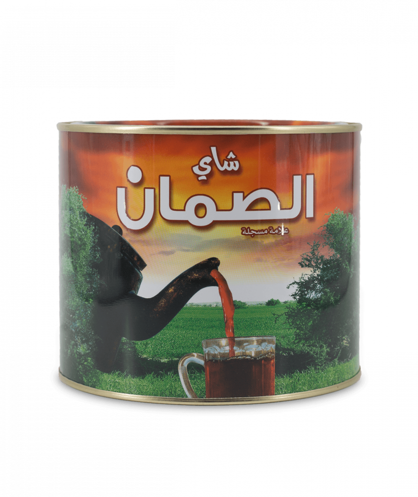 بياك-الصمان-شاي-اسود-معدن-شاي