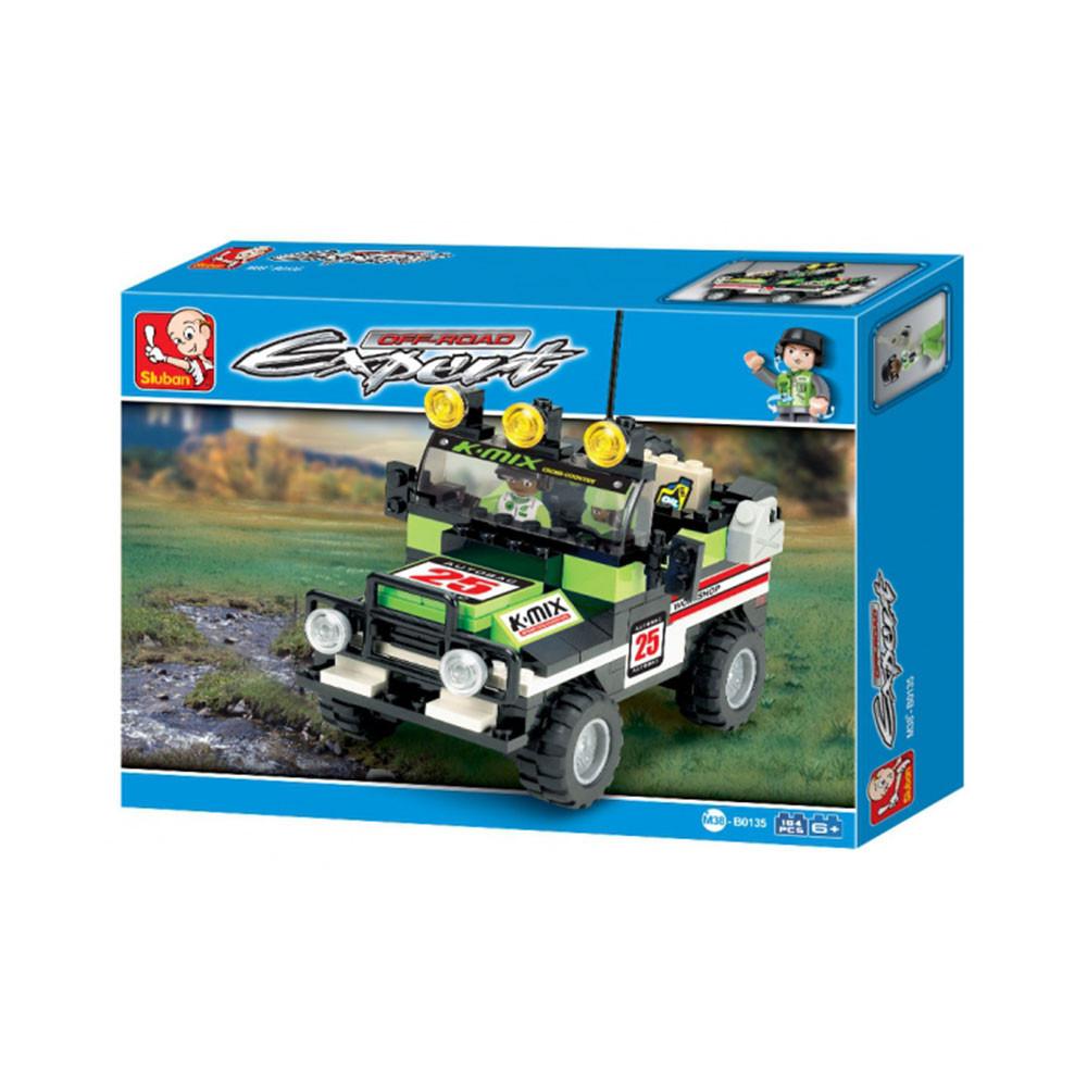 سلوبان, قطع تركيب سيارة رباعية, ألعاب, Toys, Car, Sluban
