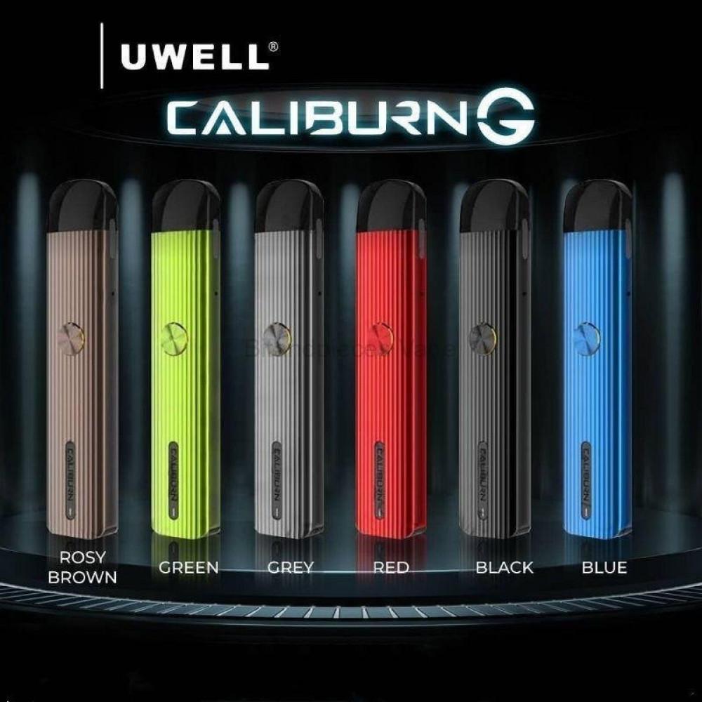 سحبة يو ويل كاليبرون جي - UWELL Caliburn G Pod System Kit - فيب سيجارة
