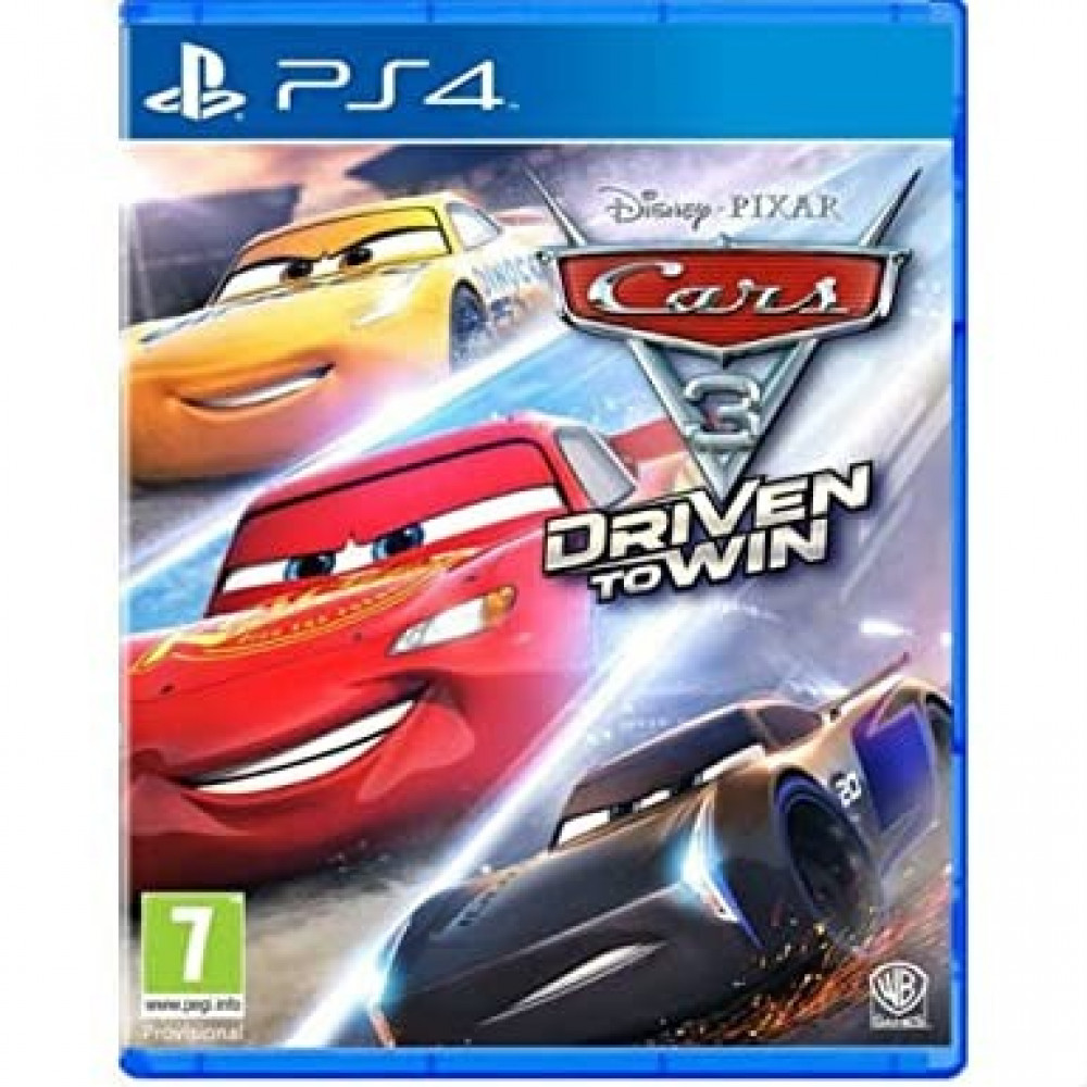 Cars 3 Driven to Win -PS4