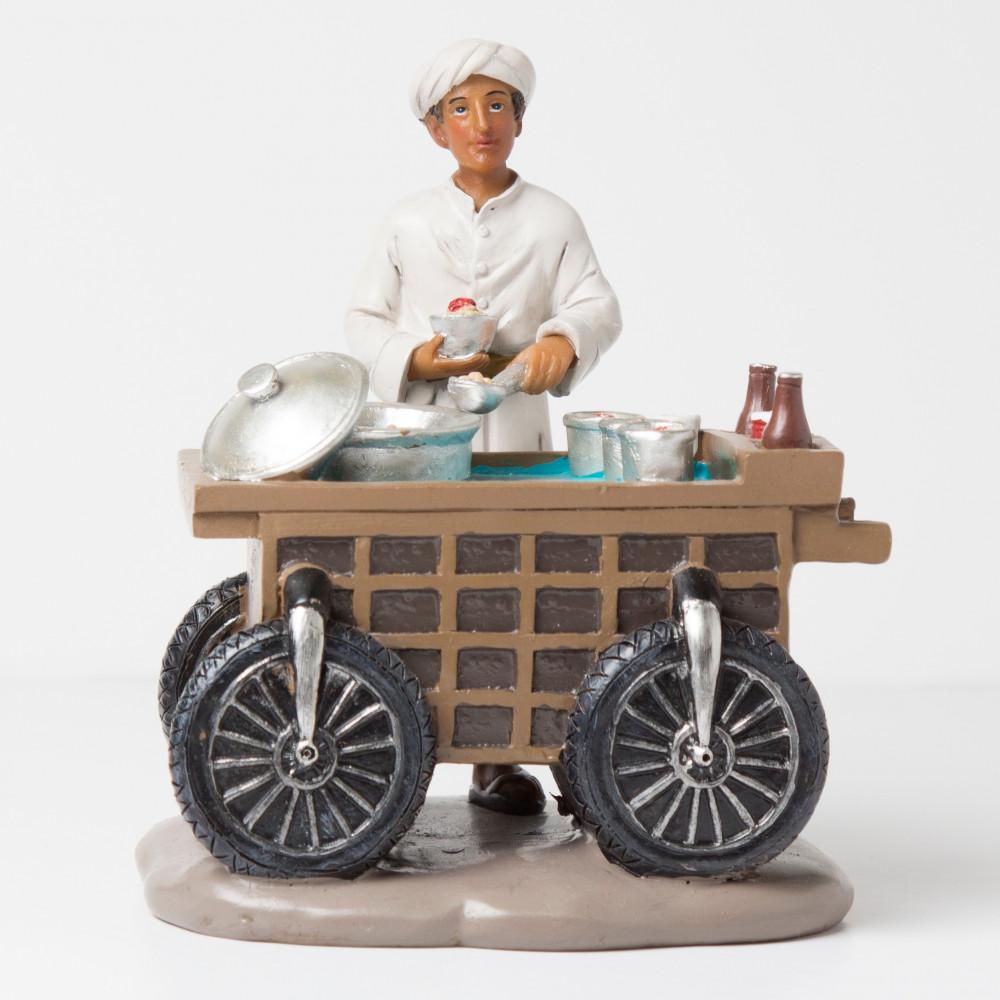 عربة البليلة العربة وبائع البليلة