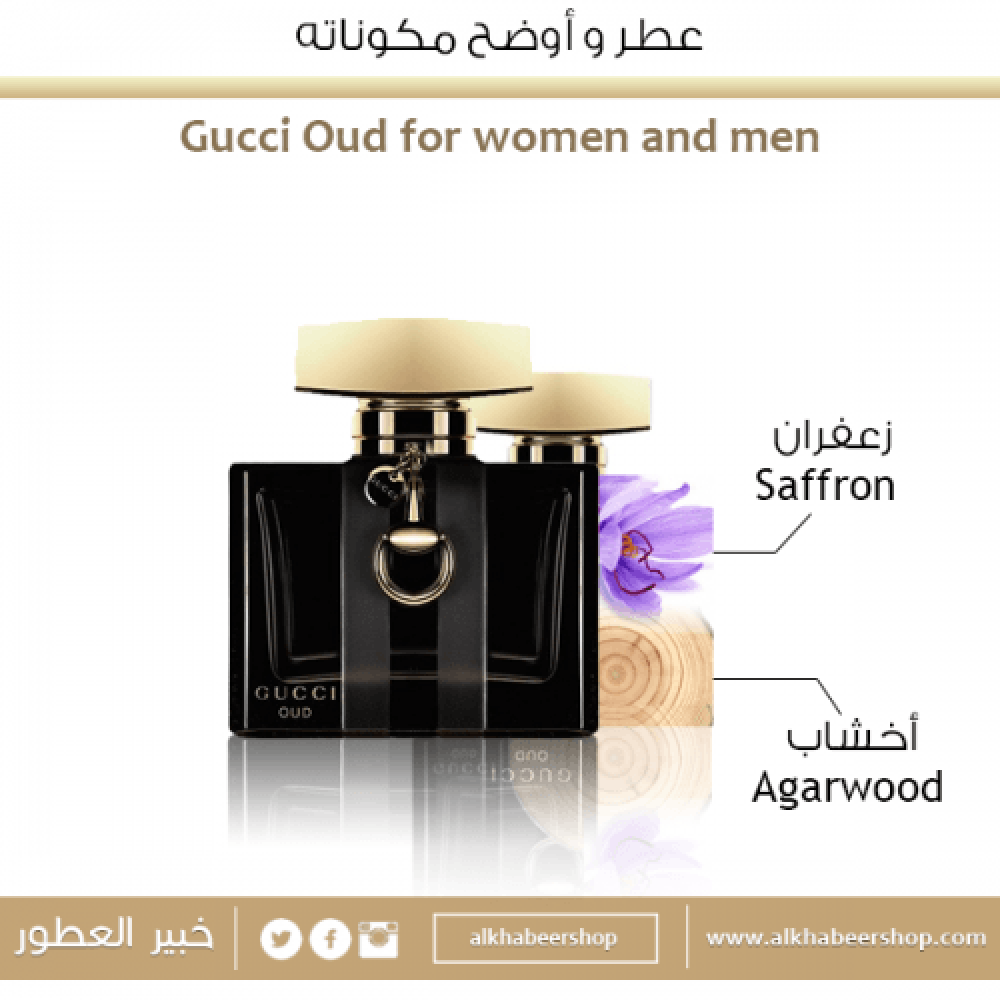 Gucci Oud for Women Eau de Parfum 75ml خبير العطور