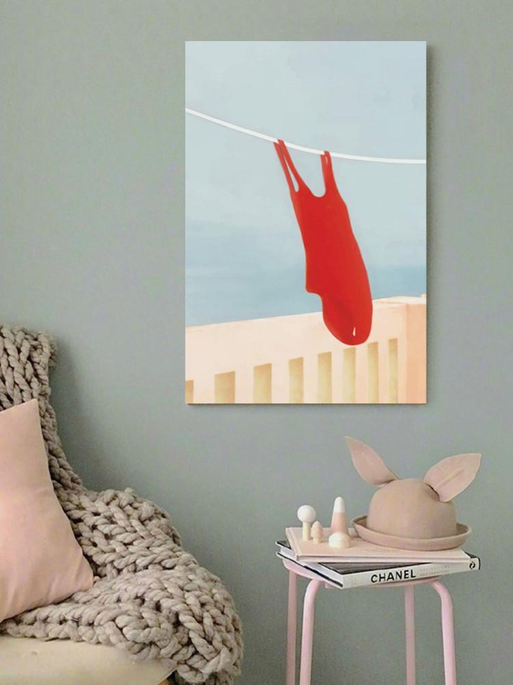 لوحة ثياب البحر خشب ام دي اف مقاس 40x60 سنتيمتر