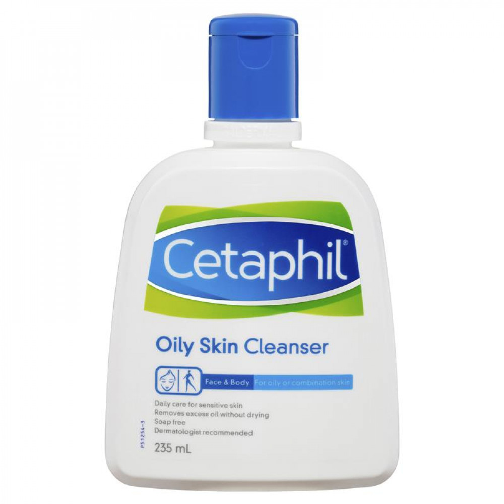 cetaphil سيتافيل منظف للبشرة الدهنية 236 مل