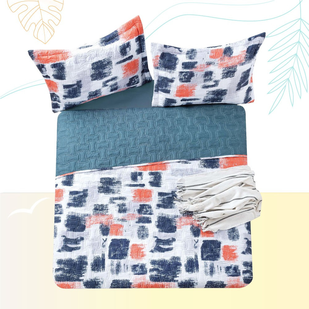 غطاء سرير صيفي Pamela مشجر