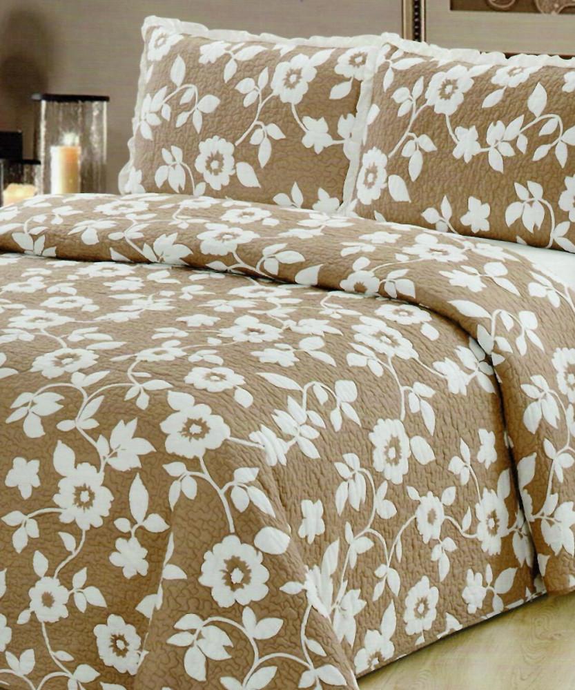 غطاء سرير Promise فاخر - مزدوج - 3 قطع