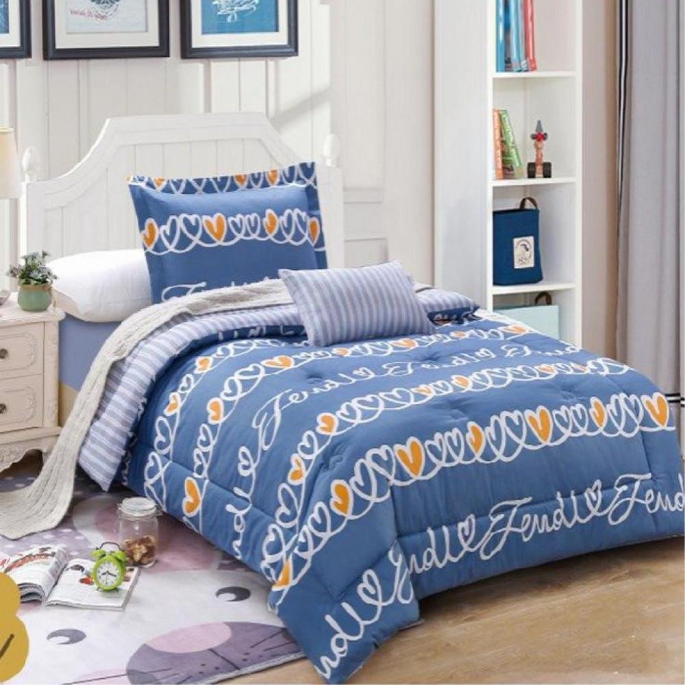 مفرش غرف نوم يناسب طفلك لون ازرق تصميم غرفة نومه