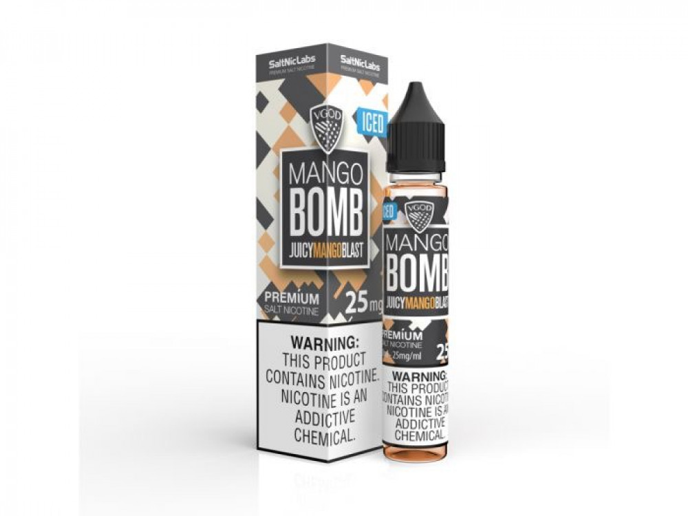 ICED Mango Bomb - VGOD SaltNic