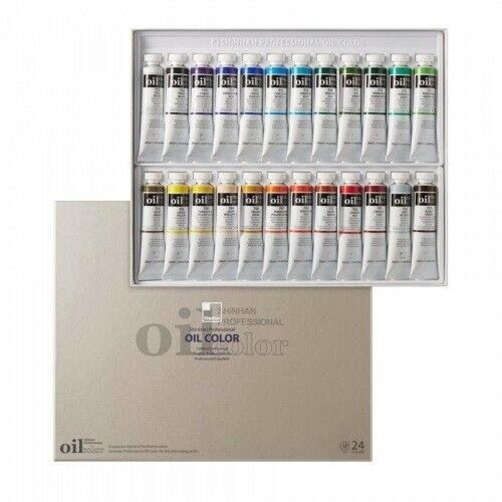 مجموعة الوان زيتية 24 لون