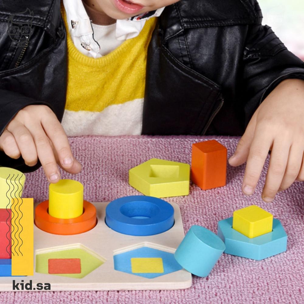 العاب تركيز للاطفال خشبية