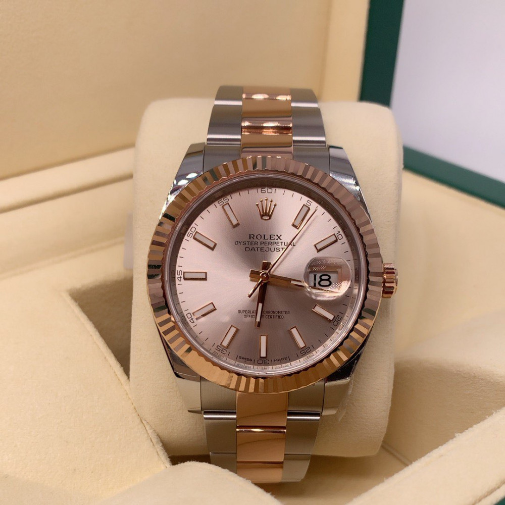 ساعة Rolex ديت جست الأصلية جديدة كليا