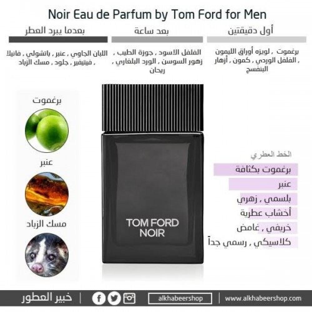 Tom Ford Noir for Men Eau de Parfum 100ml خبير العطور