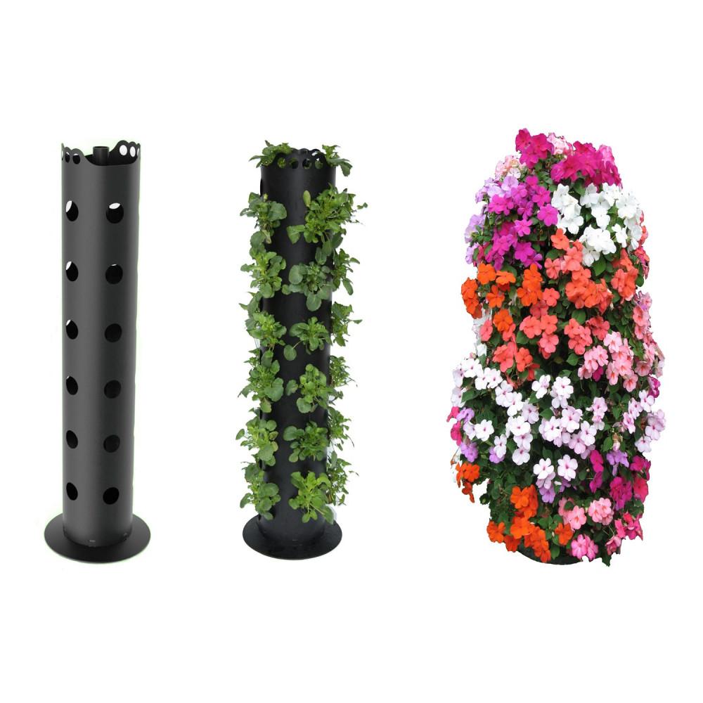 Flower Tower أعمدة زهور