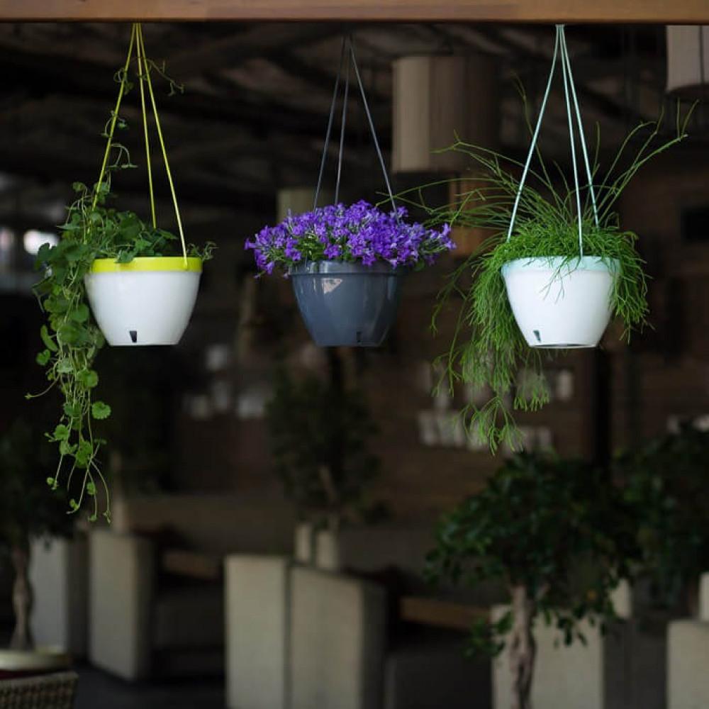 مراكن علاقي ري ذاتي اوروبي Santino Vista لنباتات الزينة والمتدلية