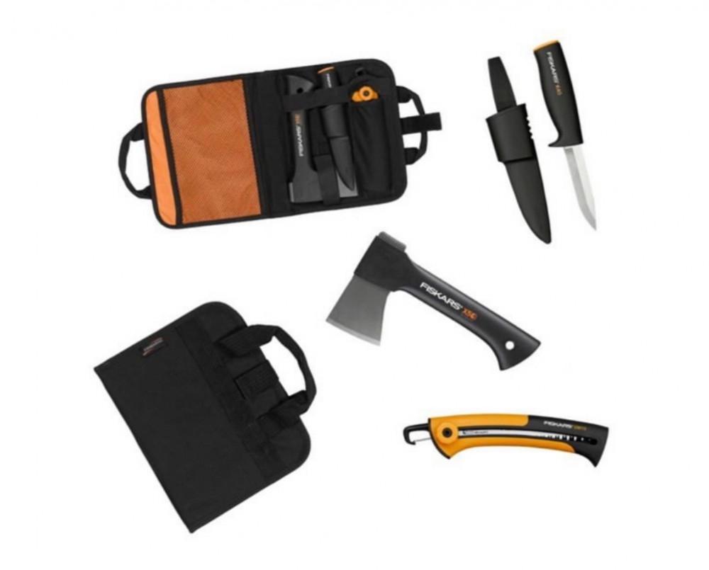 مجموعة أدوات زراعية فاس منشار سكين