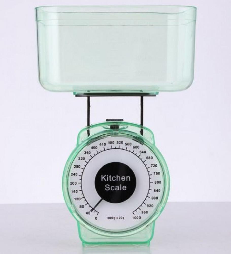 ميزان مطبخ ميكانيكي بكفة حمولة 10000 غرام