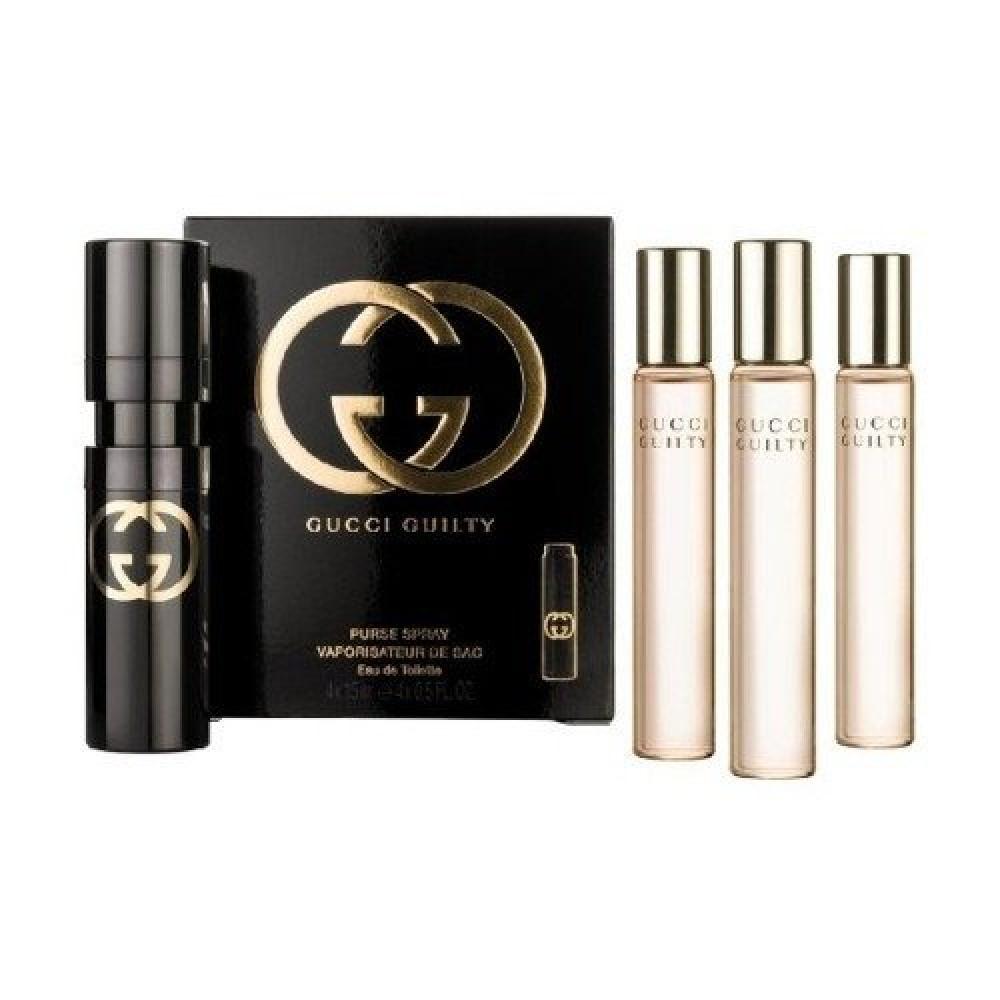 Gucci Guilty for Women Purse Spray Eau de Toilette 4x15ml خبير العطور