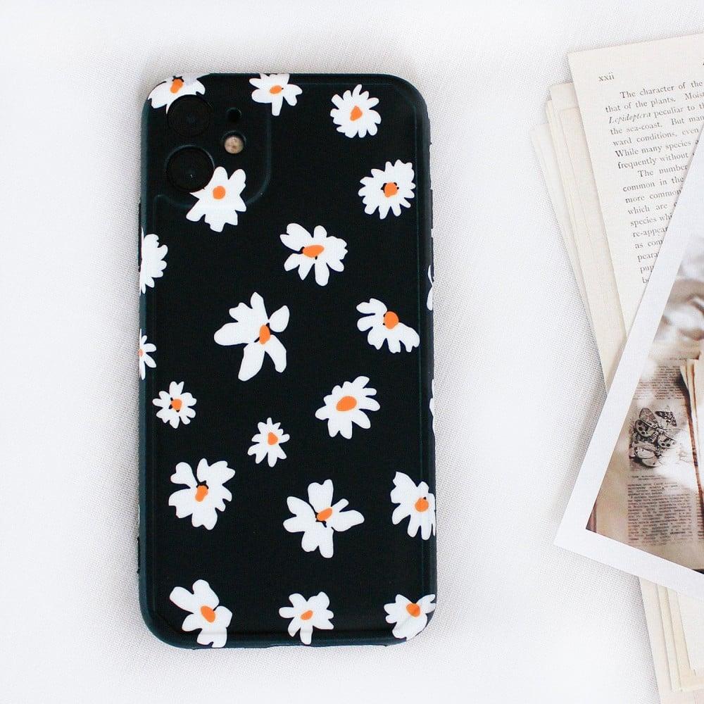 أغطية ايفون 12 اكسسوارات ايفون كفر ايفون زهرة زهور خلفيات ايفون متجر