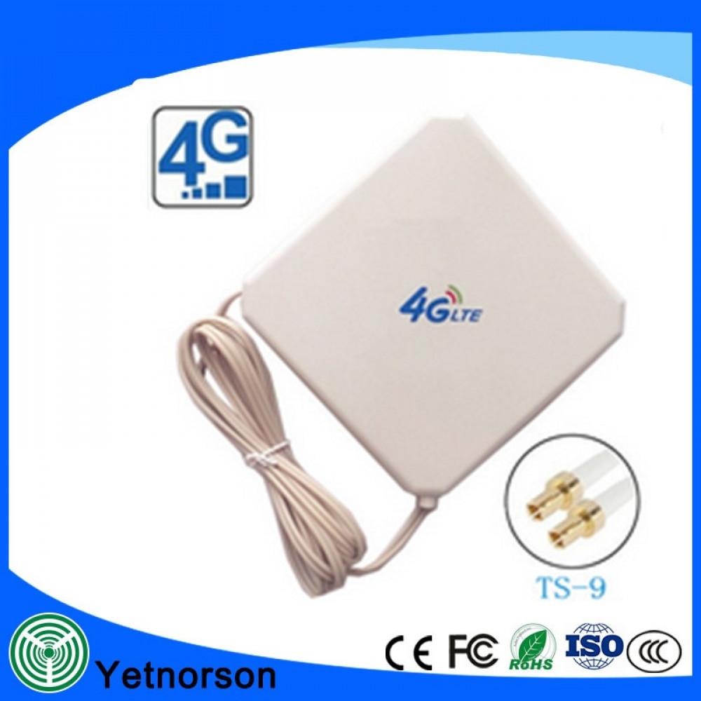 أنتينا لتقوية الشبكة ماي فاي 4G و 3G بقوة 36dbi نظام ميمو سيلكين TS9
