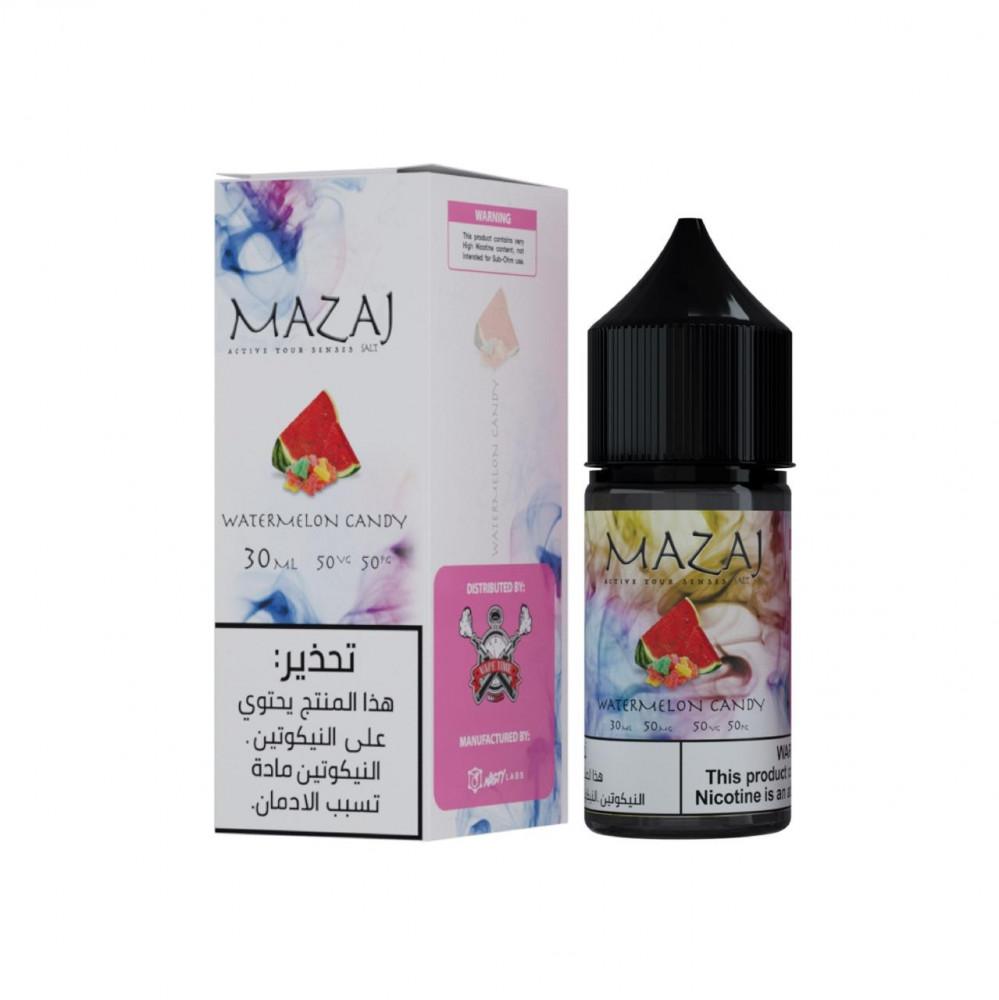 نكهة مزاج حلاوة البطيخ سولت 30 مل MAZAJ Watermelon SALT